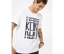 MK T-Shirt Aus Baumwoll-Jersey Mit Kors-Schriftzug - Weiss(Weiss) - Michael Kors