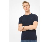 MK T-Shirt Aus Baumwolle - Midnight(Blau) - Michael Kors