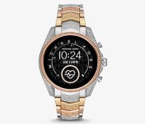 Dreifarbige Smartwatch Gen5 Bradshaw mit Pavé-Fassung