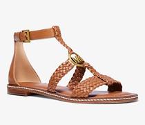 Sandale Piper aus Geflochtenem Leder