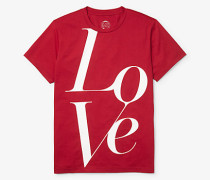 MK Watch Hunger Stop Love T-Shirt - Rote Johannisbeere(Rot) - Michael Kors