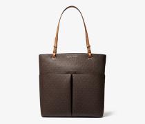 Shopper Bedford Large aus Logostoff mit Aufgesetzter Tasche
