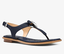 Sandale Alice aus Saffianleder