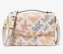 Messenger-Tasche Hendrix Medium aus Leder mit Logoprägung