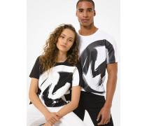 Unisex-T-Shirt aus Baumwoll-Jersey  mit Logo