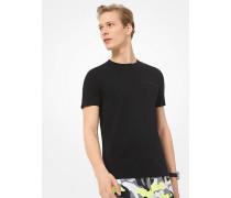 MK T-Shirt Aus Baumwolle - Schwarz(Schwarz) - Michael Kors