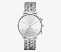 Armbanduhr Jaryn Im Silberton Mit Mesh-Armband
