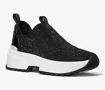 Slip-On-Sneaker Cosmo aus Stretch-Nylon mit Verzierungen