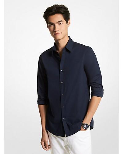 Slim-Fit-Hemd aus Stretch-Baumwolle