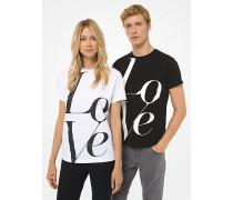 MK Watch Hunger Stop Love T-Shirt - Weiss(Weiss) - Michael Kors