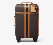 Koffer Bedford Travel Extra-Large aus Logostoff mit Streifen