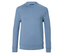 Track Sweater Slate Blue