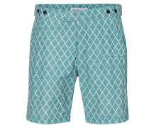 Janelas Tailored Trunk Reef Green/White