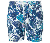 Swim Navy Big Palms