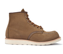 Heritage Work - Moc Toe Olive Mohave Leather