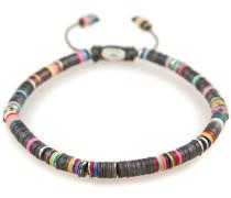 African Vinyl Oxidized Discs Bracelet Black