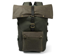 Rolltop Backpack Otter Green