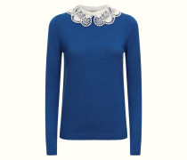 Bliss Collar Jumper, French Blue