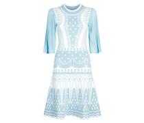 Silvermist Jacquard Knit Mini Dress,  Fern Mix