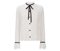 Eclipse Lace Shirt,  White