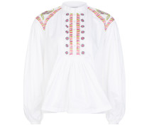 Fable Blouse,  White Mix