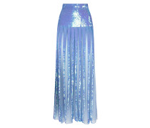 Filigree Skirt,  Periwinkle