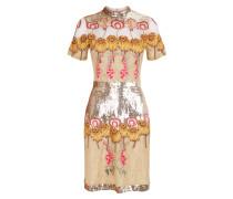 Farewell Mini Dress,  Gold Mix
