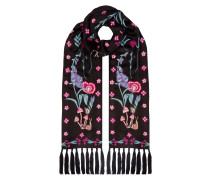 Foxglove Accesssories Dinner Scarf,  Black Mix