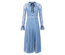 Eclipse Lace Collar Dress,  Iris