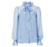 Costume Silk Shirt,  Iris