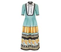 Foxglove Printed Shirt Dress,  Fern Mix