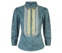 Poppy Field Shirt,  Fern Mix