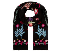 Foxglove Accessories Shawl,  Black Mix