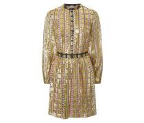 Letter Print Mini Dress - Sale