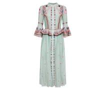 Wildflower Ruffle Dress,  Celadon Mix