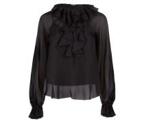 Allure Sleeved Blouse,  Black