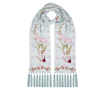 Foxglove Accesssories Dinner Scarf,  Frost Mix