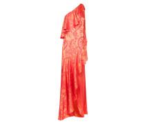 Orbit Ruffle Dress, Fuschia Mix
