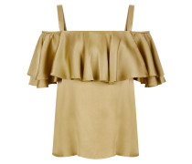 Seabright Shoulder Blouse,  Flax