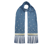 Foxglove Accessories Bird Dinner Scarf,  Fern Mix