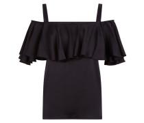 Seabright Shoulder Blouse,  Black
