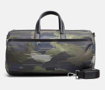 Duffle-Bag mit Camouflage-Jacquard