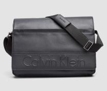 Messenger-Bag mit Klappe