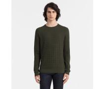 Sweater aus Baumwoll-Mix