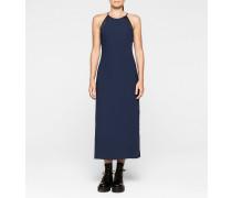 Krepp-Maxi-Kleid