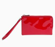 Lack-Armbandtasche