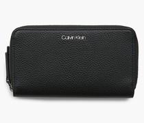 Portemonnaie mit doppeltem Rundum-Reißverschluss