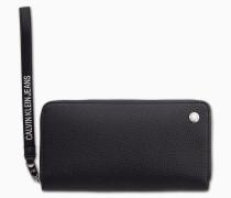 Kleines Handgelenks-Portemonnaie mit Rundum-Reißverschluss