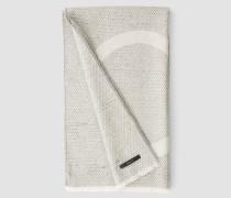 Strukturierter Schal aus Wollgemisch
