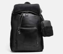 48 Stunden-Rucksack aus Leder